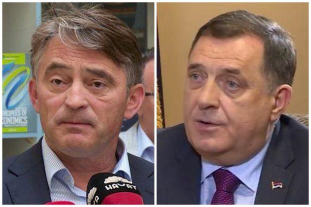 Željko Komšić, Milorad Dodik kombo