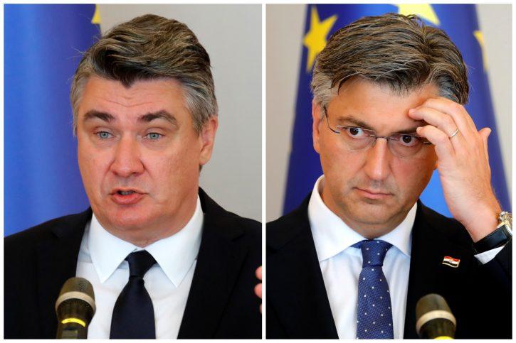 Zoran Milanović, Andrej Plenković kombo