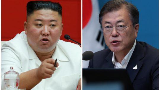 Kim Jong un i Moon Jae in