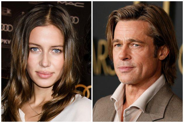 Nicole Poturalski i Brad Pitt