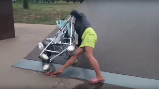 majka ugrozila dete