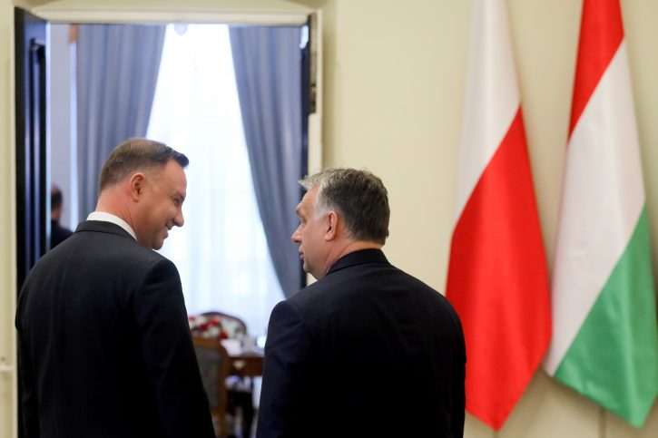 Andrzej Duda Viktor Orban