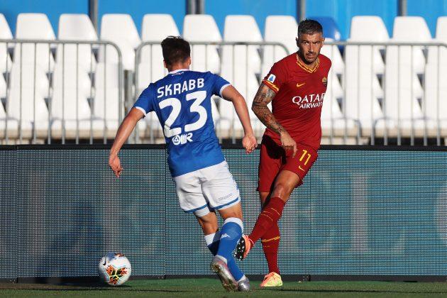 Aleksandar Kolarov šutira ka golu
