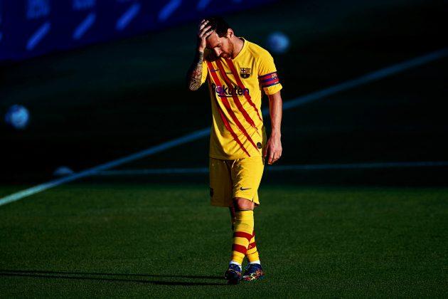 Lionel Mesi neraspoložen odlazi sa terena