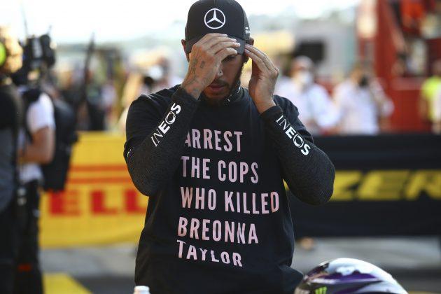 Luis Hamilton ne odustaje od borbe protiv rasizma, FIA odustala od istrage