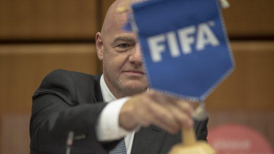 Đani Infantino FIFA