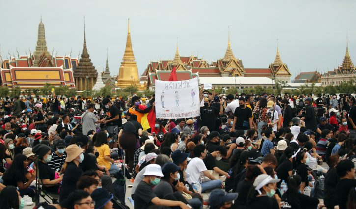 protesti u tajlandu