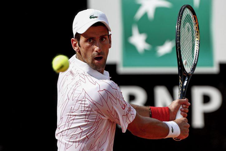 Novak Đoković igra protiv Kaspera Ruda polufinale Rima