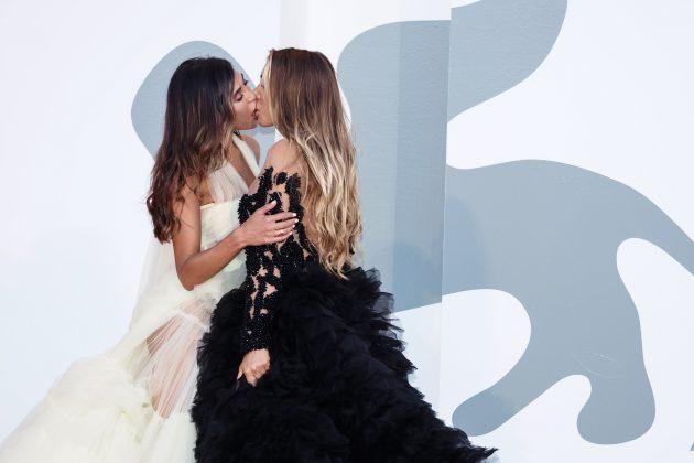 Venecijanski festival; poljubac