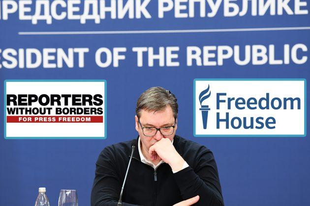 Vučić ubija demokratiju u Srbiji