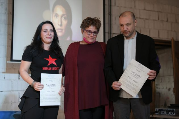 Ana Lalic, Tamara Skrozza i Vuk Cvijic