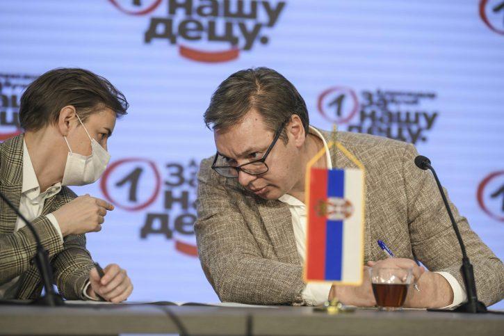 Ana Brnabić i Aleksandar Vučić Foto: Dragan Mujan/Nova.rs