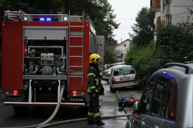 Vatrogasci na mestu eksplozije u Belim vodama