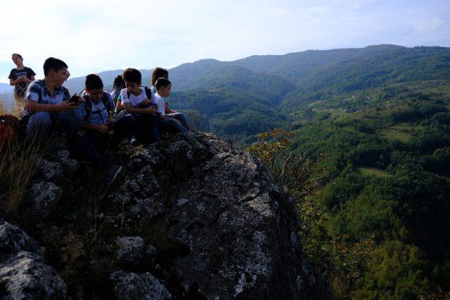 planinarski kamp za decu