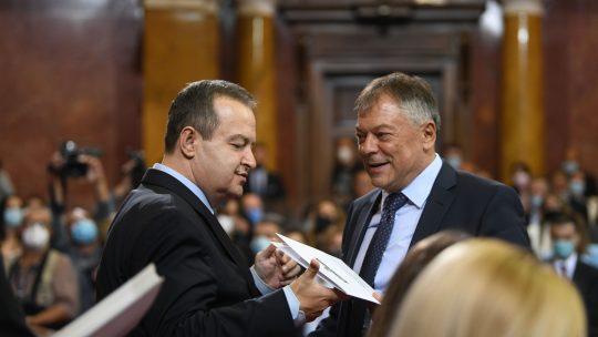 Ivica Dačić i Novica Tončev Foto: Filip Krainčanić/Nova.rs