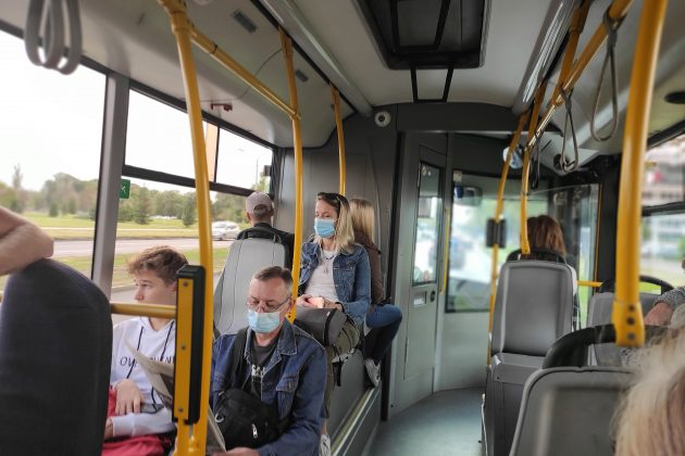 maske, autobus, gradski prevoz, kontrola