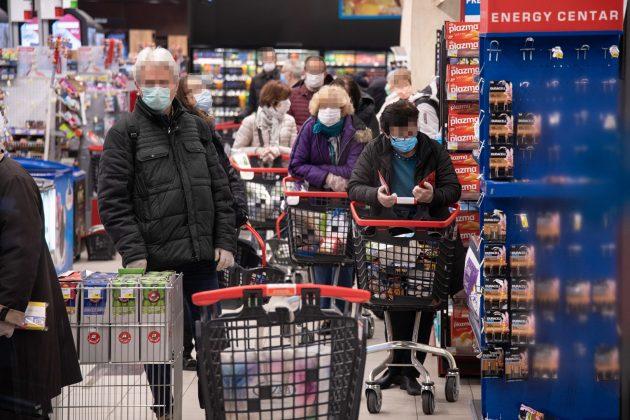 zaraza u prodavnicama