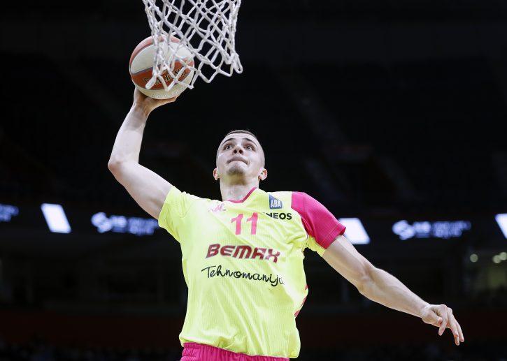 Marko Simonović iz Mege MVP 1. kola ABA lige