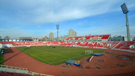 Prazan stadion Radničkog iz Niša