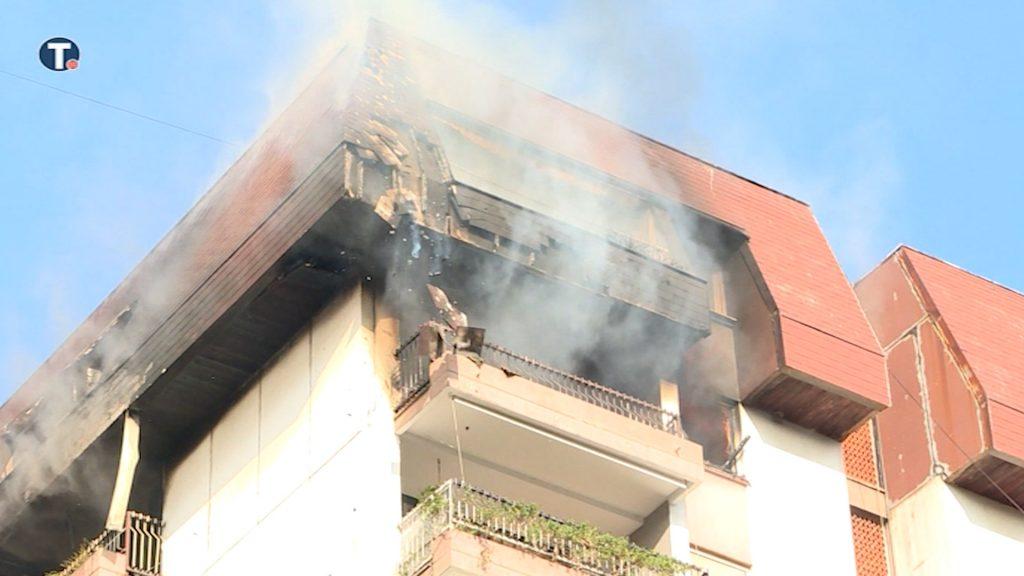 Požar u stambenoj zgradi na Dorćolu