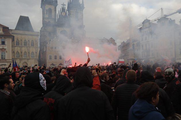 Protest u Pragu