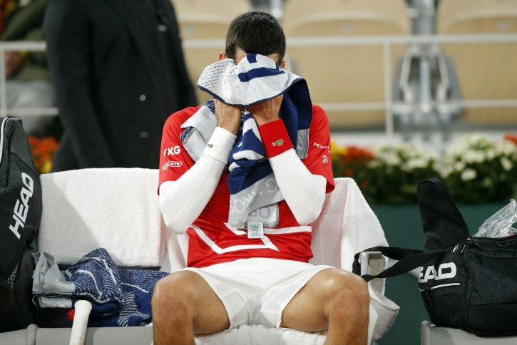 Novak Đoković drugi put u karijeri izgubio set sa nulom od Rafaela Nadala