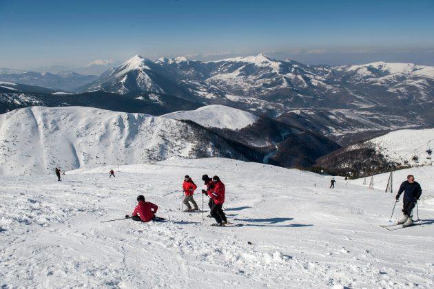 Brezovica; skijanje