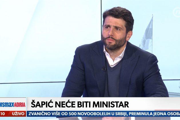 Aleksandar Šapić u Pregledu dana