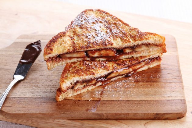 topli sendvič s kremićem