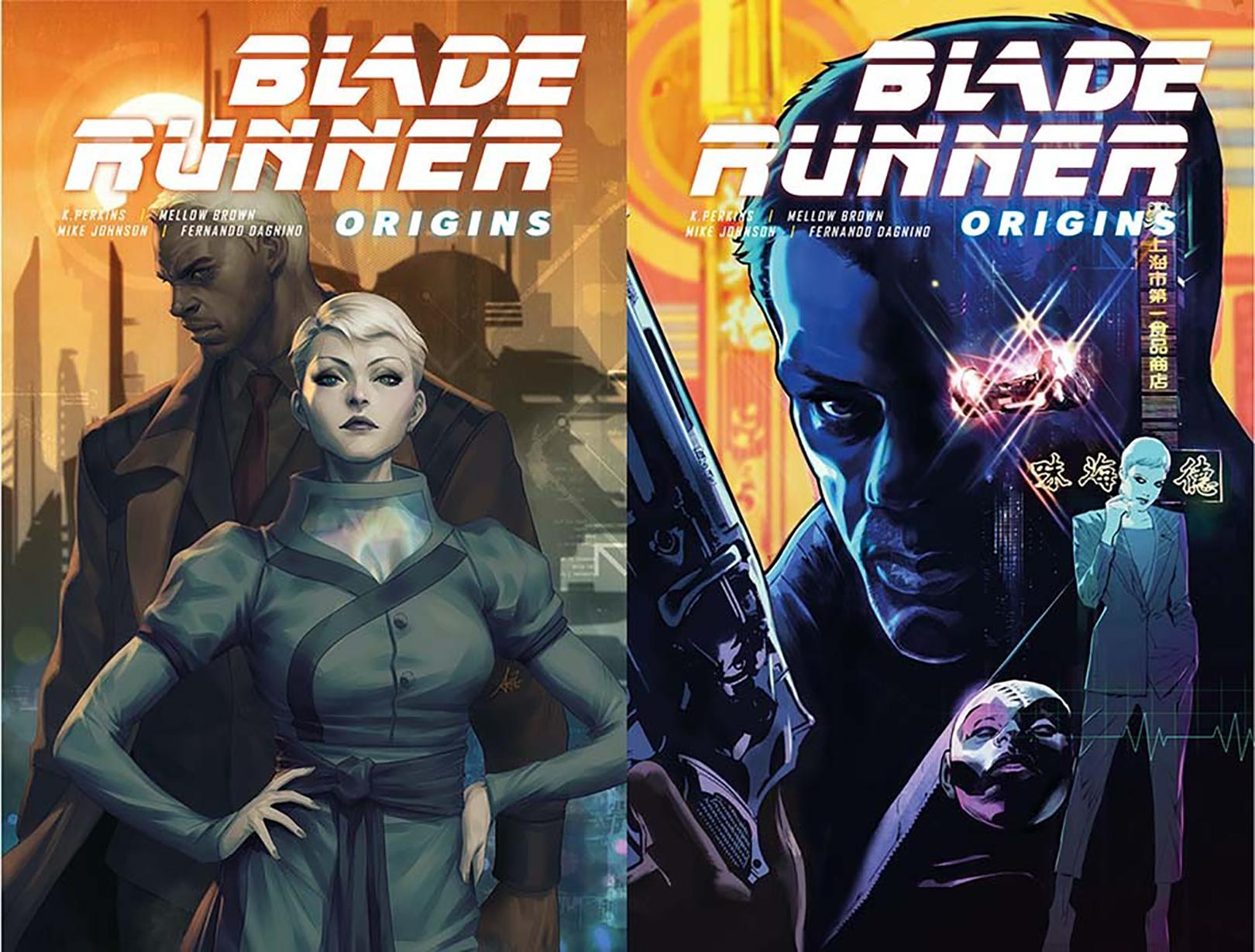 Blade Runner Origins - naslovnice