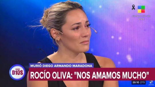 Rosio Oliva poslednja velika ljubav Dijega Maradone