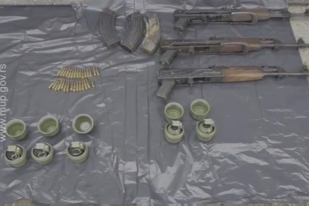 Zajednička akcija MUP-a Srbije i Republike Srpske Zaplenjene automatske puške i bombe