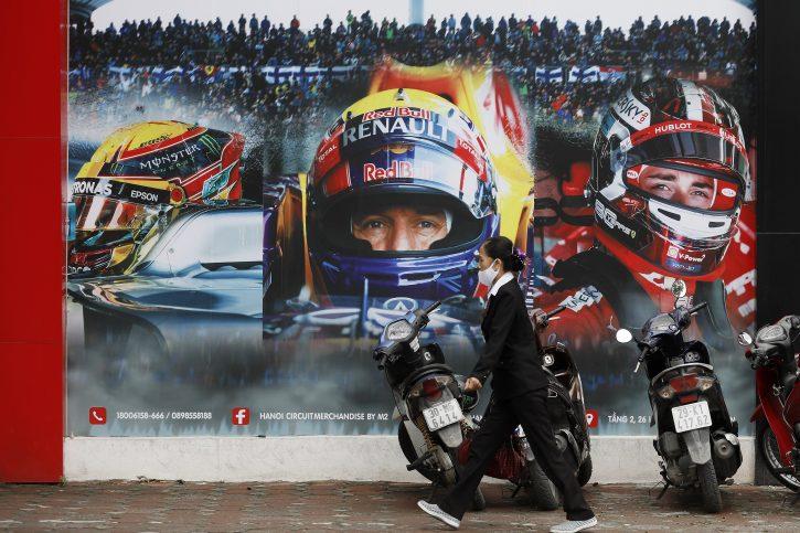 Trka Formule 1 u Vijetnamu izbačena iz kalendara za 2021.