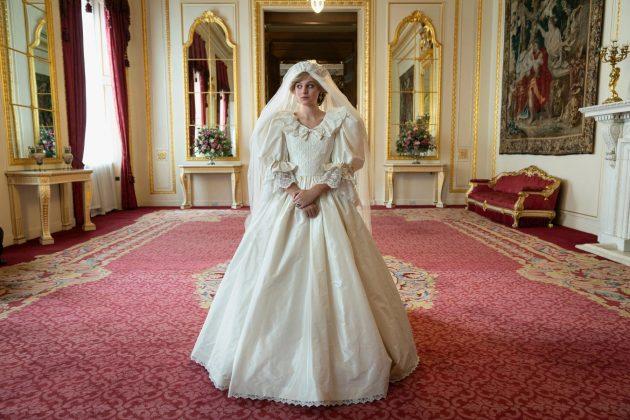 Princeza Dajana u seriji Kruna