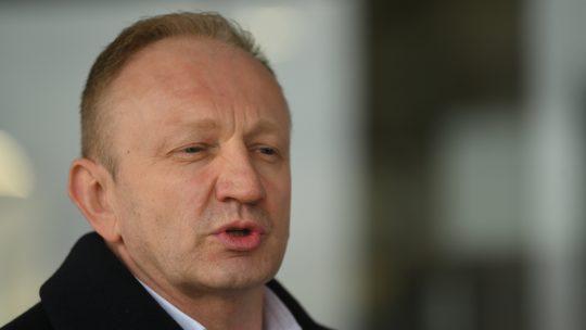 Dragan Đilas ispred Palate pravde