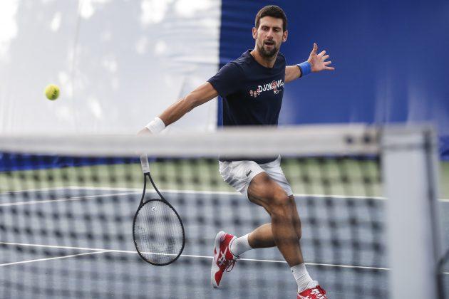 Novak Đoković odmara i trenira u Beogradu