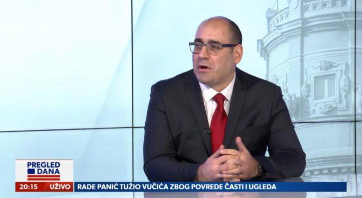 Vladimir Djukanovic u Pregledu dana