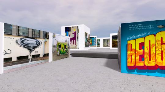 virtuelna izložba ulične umetnosti
