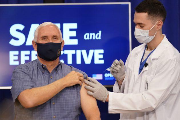 Majk Pens prima vakcinu