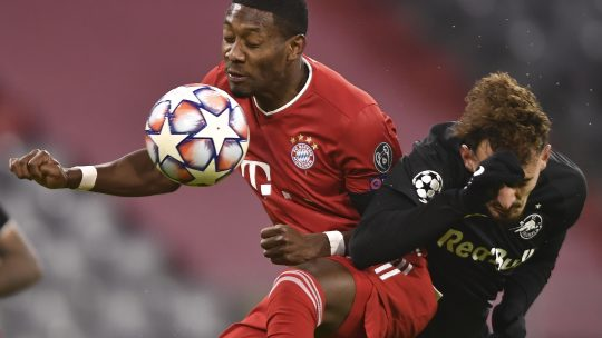 Alaba možda ostane u Bajernu, traže ga Čelsi i Juventus