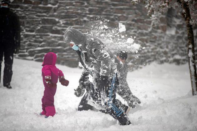 Sneg u Spaniji