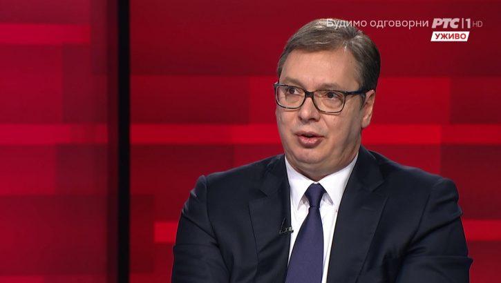 Vučić na RTS