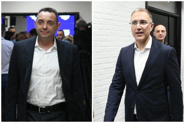 Aleksandar Vulin, Nebojsa Stefanovic, kombo