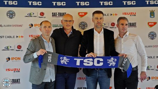 Mladen Krstajić promovisan kao trener TSC i klub uporedio s bundesligašem