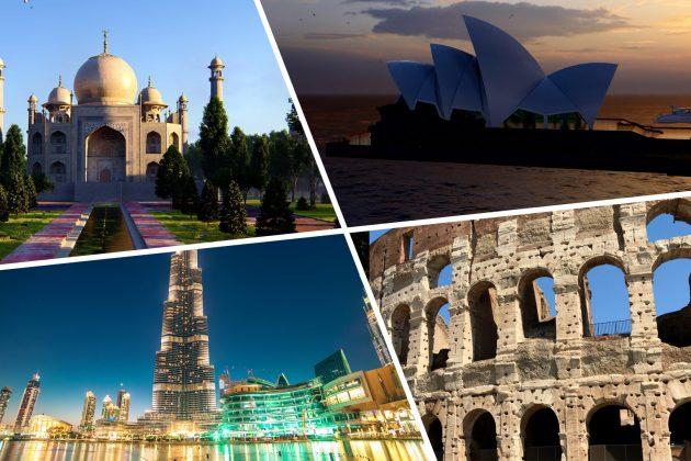 Najpoznatije gradjevine sveta