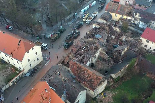 petrinja zemljotres pomoć