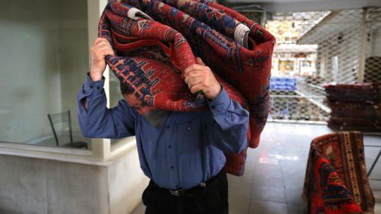 istresanje tepiha
