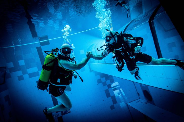 Otvoren najdublji bazen na svetu