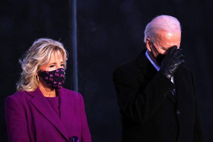 bajden inauguracija supruga džil