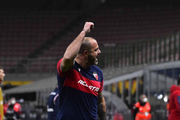 Dejan Stanković proslavlja gol protiv Milana